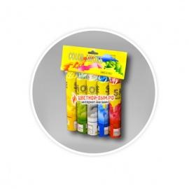 Color Smoke (5 шашек разного цвета)